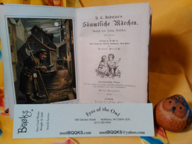 Andersen's Frontis and Title Page